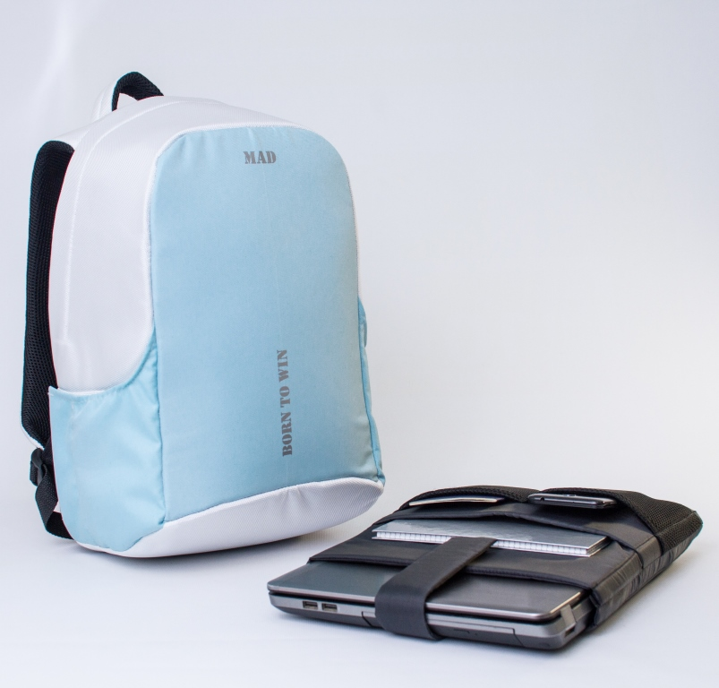 белый рюкзак, купить белый рюкзак, белый рюкзак женский, женские рюкзаки белые купить, женский рюкзак антивор, рюкзак для ноутбука антивор