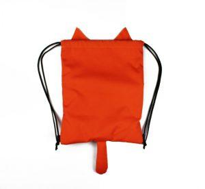 Детский рюкзак мешок Кот Эйнштейна с ошейником. MAD   born to win, детский рюкзак мешок Кот Эйнштейна с ошейником, детский рюкзак мешок на затяжках, рюкзак мешок на затяжках, детский рюкзак мешок, рюкзак мешок детский,